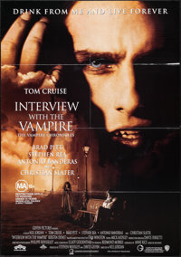 """Interview with the Vampire & Others Lot (Warner Brothers, 1994). Australian One Sheet (27.5"""" X 39.25"""") &am..."""