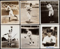 Autographs:Photos, Baseball Hall of Fame Signed Vintage Photograph Lot of 12. ...