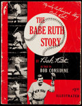 """Baseball Collectibles:Publications, 1948 """"The Babe Ruth Story"""" Paperback Book.. ..."""