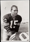 Football Collectibles:Photos, 1960 Bart Starr Vintage Original Photograph.. ...