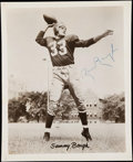 Autographs:Photos, Sammy Baugh Signed Vintage Photograph.. ...