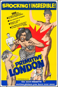 "Movie Posters:Exploitation, Primitive London (Compton-Cameo Films, 1965). British One Sheet(28"" X 42""). Exploitation.. ..."