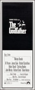 "Movie Posters:Crime, The Godfather (Paramount, 1972). Insert (14"" X 36"") S. Neil FujitaArtwork. Crime.. ..."