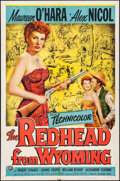 "Movie Posters:Western, The Redhead from Wyoming (Universal International, 1953). One Sheet(27"" X 41""). Western.. ..."