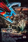 "Movie Posters:Action, Superman II (Warner Brothers, 1981). Full-Bleed British One Sheet(27"" X 40""). Action.. ..."