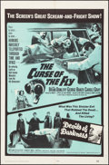 "Movie Posters:Horror, The Curse of the Fly/Devils of Darkness Combo (20th Century Fox,1965). One Sheet (27"" X 41""). Horror.. ..."