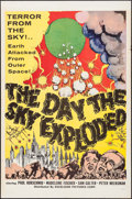 """Movie Posters:Science Fiction, The Day the Sky Exploded (Excelsior, 1957). One Sheet (27"""" X 41"""").Science Fiction.. ..."""