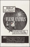 "Movie Posters:Horror, The Flesh Eaters (Cinema Distributors of America, 1964). One Sheet(27"" X 41""). Horror.. ..."