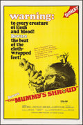 "Movie Posters:Horror, The Mummy's Shroud (20th Century Fox, 1967). Folded, Very Fine. OneSheet (27"" X 41""). Horror.. ..."