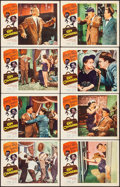 """Movie Posters:Comedy, Spy Chasers (Allied Artists, 1955). Lobby Card Set of 8 (11"""" X14""""). Comedy.. ... (Total: 8 Items)"""