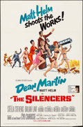 "Movie Posters:Action, The Silencers (Columbia, 1966). One Sheet (27"" X 41"") Brian BysouthArtwork. Action.. ..."