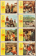 "Movie Posters:Western, Shane (Paramount, R-1959). Lobby Card Set of 8 (11"" X 14"").Western.. ... (Total: 8 Items)"