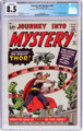 Journey Into Mystery #83 (Marvel, 1962) CGC Conserved VF+ 8.5 Off-white to white pages