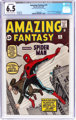 Amazing Fantasy #15 (Marvel, 1962) CGC Conserved FN+ 6.5 Off-white to white pages