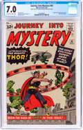 Silver Age (1956-1969):Superhero, Journey Into Mystery #83 (Marvel, 1962) CGC FN/VF 7.0 Off-white towhite pages....