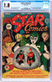 All Star Comics #8 (DC, 1942) CGC GD- 1.8 Light tan to off-white pages