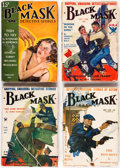 Pulps:Detective, Black Mask Group of 12 (Fictioneers Inc., 1930-37) Condition: Average GD/VG.... (Total: 12 Items)