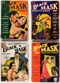 Pulps:Detective, Black Mask Group of 6 (Fictioneers Inc., 1934-39) Condition: Average GD.... (Total: 6 Items)