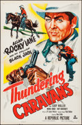 """Movie Posters:Western, Thundering Caravans & Others Lot (Republic, 1952). One Sheets (10) (27"""" X 41""""). Western.. ... (Total: 10 Items)"""