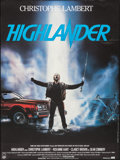 "Movie Posters:Fantasy, Highlander (Thorn EMI, 1986). French Grande (47"" X 63""), FrenchPantalon (2) (22.5"" X 62"") & French Petite (16.25"" X 22""). G...(Total: 4 Items)"