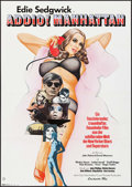 "Movie Posters:Documentary, Ciao! Manhattan (Constantin Film, 1974). German A1 (23.25"" X 33""). Documentary.. ..."