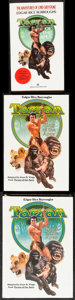"""Movie Posters:Adventure, Tarzan Lot (Random House, 1983). Hardcover Book (104 Pages, 5.5"""" X8""""), Paperback Books (2) (4.25"""" X 7"""" & 5"""" X 7.75""""), Color...(Total: 8 Items)"""