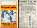 "Movie Posters:Black Films, Regeneration (Norman, 1923). Uncut Pressbooks (2) Identical (4Pages, 14"" X 22""). Black Films.. ... (Total: 2 Items)"