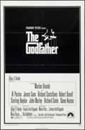 "Movie Posters:Crime, The Godfather (Paramount, 1972). One Sheet (27"" X 41"") & MiniLobby Cards (4) (8"" X 10""). S. Neil Fujita Artwork. Crime.. ...(Total: 5 Items)"