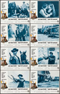 """Movie Posters:Western, Day of Anger (National General, 1969). Lobby Card Set of 8 (11"""" X14"""") Frank McCarthy Artwork. Western.. ... (Total: 8 Items)"""