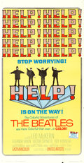 """Movie Posters:Rock and Roll, Help! (United Artists, 1965). Three Sheet (41"""" X 79"""").. ..."""