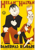 """Movie Posters:Comedy, Any Old Port (MGM, 1932). Swedish One Sheet (27.5""""..."""