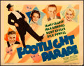 Movie Posters:Musical, Footlight Parade (Warner Brothers, 1933). Title Lo...