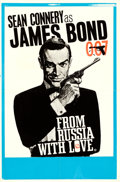 "Movie Posters:James Bond, From Russia with Love (United Artists, 1964). British Double Crown (19.75"" X 30.25"") Style B, Eric Pulford and Joseph Caroff..."
