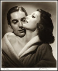 """Movie Posters:Miscellaneous, Tyrone Power & Loretta Young Studio Portrait by George Hurrell (1979-1980). Signed and Numbered Photo (16"""" X 20"""").. ..."""