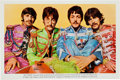 Music Memorabilia:Posters, Beatles Sgt. Pepper's Lonely Hearts Club Band Fan ClubPoster (EMI, 1967).... (Total: 2 Items)