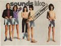 Music Memorabilia:Posters, Rolling Stones Sticky Fingers Promotional Poster (1971)....