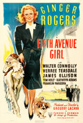 """Movie Posters:Comedy, Fifth Avenue Girl (RKO, 1939). One Sheet (27"""" X 41"""") A.M. Froehlich Artwork.. ..."""