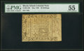 Colonial Notes:Rhode Island, Rhode Island May 1786 20s PMG About Uncirculated 55.. ...