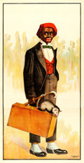 "Movie Posters:Miscellaneous, Minstrel Show (Ackermann-Quigley, 1900's). Advertising Poster (42"" X 81"").. ..."