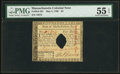 Colonial Notes:Massachusetts, Massachusetts May 5, 1780 $4 Hole Punch Cancel PMG AboutUncirculated 55 EPQ.. ...