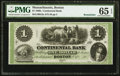Obsoletes By State:Massachusetts, Boston, MA - Continental Bank $1 Oct. 18__ Remainder G2a. ...