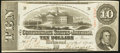 Confederate Notes:1863 Issues, T59 $10 1863 PF-35.. ...