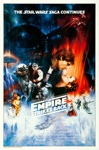 "The Empire Strikes Back (20th Century Fox, 1980). One Sheet (27"" X 41"") Original Roger Kastel Concept Poster..."