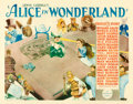 "Movie Posters:Fantasy, Alice in Wonderland (Paramount, 1933). Half Sheet (22"" X 28"").. ..."