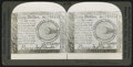 Colonial Notes:Mixed Colonies, Continental Currency Stereoscope Card. . ...
