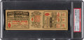 Baseball Collectibles:Tickets, 1923 World Series Game Six Full Ticket--First New York Yankees Championship Clincher! . ...
