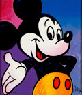 """Animation Art:Seriograph, Peter Max """"Mickey Mouse"""" Limited Edition Serigraph Print (WaltDisney, 1994)...."""