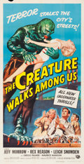 Movie Posters:Horror, The Creature Walks Among Us (Universal International, 1956...