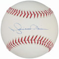 Autographs:Baseballs, Mariano Rivera Single Signed Baseball.. ...