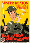 """Movie Posters:Comedy, Doughboys (MGM, 1931). Swedish One Sheet (27.5"""" X 39.5"""").. ..."""
